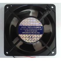 Cooler Ventoinha 120x120x38mm Bivolt 110v 220v Alumínio Nf