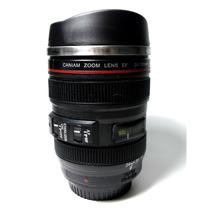 Copo /caneca Térmica Lente Canon 24-105mm Caniam - Alumínio