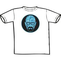 Camiseta - Breaking Bad -mr. White Blue Crystal Só Nó Temos