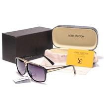 Óculos Evidence Louis Vuitton Original Brinde E Frete Grátis