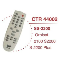 Controle Remoto Tv Orbisat 2100 S2200 S-2200 Plus Parabólica