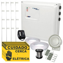 Kit Cerca Elétrica C/ Setor De Alarme P/ Até 30 Mts + Brinde