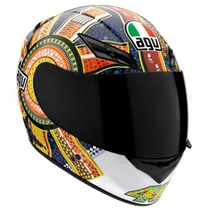 Capacete Motociclista Agv K-3 Top Dreamtime - Tamanho 60