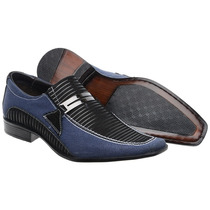 Sapato Social Masculino Em Couro Verniz Luxo Lançamento!!!!