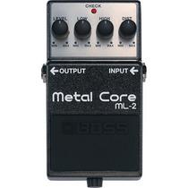 Pedal Boss Ml-2 | Metal Core | Distorção | Para Guitarra