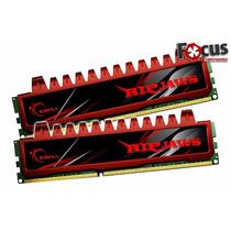 Memória G.skill Ripjaws 8gb 2x4gb D3 1600 Pc3 12800 F3