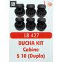 Bucha Kit Coxim Cabine S10 (dupla)