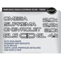 Emblema Omega Suprema 4.1 Cd 2.2 Gls 1992 1993 1994 1995 96