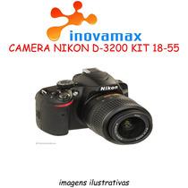 Camera Nikon D-3200 24.2mp Kit 18-55