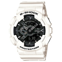 Relógio Casio Masculino G-shock Ga-110gw-7adr Branco Preto