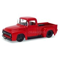 Ford F-100 Pick-up 1956 Jada Toys 1:24 90484-vermelho