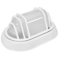 Luminária Tipo Tartaruga Bivolt - Branco - Aço Pintura A Pó