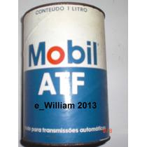 Oleo Hidraulico Vermelho Atf200 Mobil Lata 1 Litro