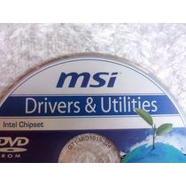 Cd Com Os Drivers Da Placa Mae Msi G41m-s01