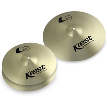 Kit De Pratos Krest L Series Para Bateria Set 2x14 +16 Lset3