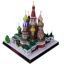 Miniatura De Papel - Saint Basils Catedral, Russia