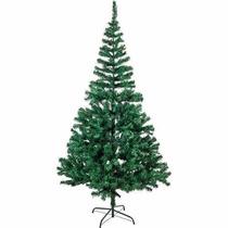 Árvore De Natal - Pinheiro Verde De 2,10 Metros - 600 Galhos