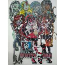 Monster High- Adesivo/ Painel De Quarto Ou Festa