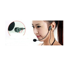 Microfone Headset P2 Auricular De Cabeça P2
