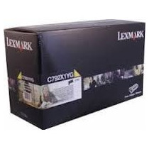 Toner Original Lexmark C792x1yg - Infinity Toners