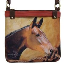 Bolsa Feminina Cavalo Animal Racional Transversal Carteiro