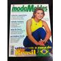 Revista Moda Moldes Carolina Dirckman Atriz Da Globo Linda