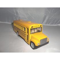 Miniatura School Bus C/fricção 12 Cm