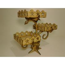 Árvore + Porta Cupcake + Porta Bolo