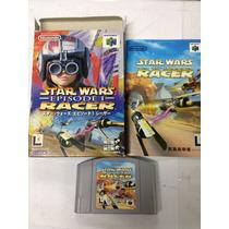 Fita De Nintendo 64 Star Wars Episode Racer