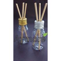 Aromatizador Difusor Frasco Pet 30ml Rd + Varetas - Kit C/10