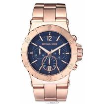 Relógio Michael Kors Mk5410 Rosê Marinho Original, Garantia*