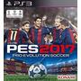 Pes 2017 Pro Evolution Soccer 17 Ps3 Psn Original Código Br