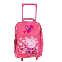 Bolsa Escolar Peppa Pig Rocks Wheeled Bag Original
