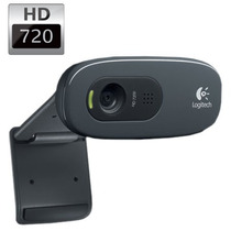 Webcam Logitech C270 Hd 1280x720p 30 Fps C/ Microfone + Nf