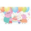 Painel De Festa Infantil Peppa Pig - 2,00 X 1,00 Fosco