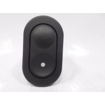 Botão Vidro Interruptor Simples Corsa Celta Kadett 6 Pinos