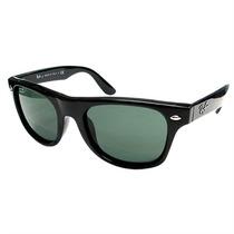 Óculos De Sol Infantil Ray Ban Wayfarer Junior Preto