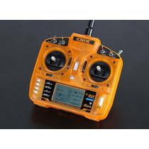 Rádio Orangerx T-six 2.4ghz Dsm2 6ch + Maleta Orangerx