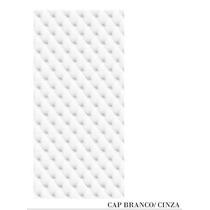 Adesivo 123 Porta Quarto Sala Capitone Branco Cinza