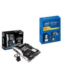 Kit Placa Mãe Asus X99-pro + Intel Core I7 5820k + Nfe