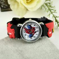 Relógio Infantil Homem Aranha Lindos (pronta Entrega )