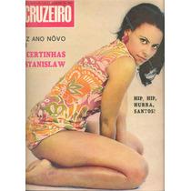 O Cruzeiro 1968 - Certinhas Vedetes / Brigitte Bardot / Pelé