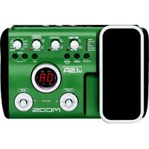 Pedaleira Zoom A2.1u A2 1u A2.1 P/ Violão +fonte+pedal+usb