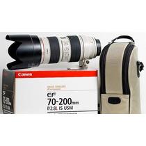 Nova Lente Canon 70-200mm F/2.8 Is Ii Usm Merclider Platinum