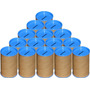 50 Cofrinhos De Papelão 6x10 - Tampa Azul Celeste