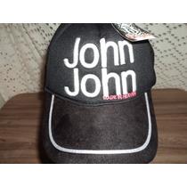 Bone John John Aba Curva Unissex
