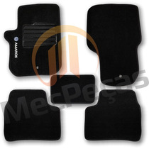 Tapete Carpete Personalizado Com Logo Bordado Amarok Preto