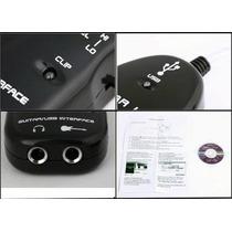 Guitar Link Adaptador P10 Para Usb Guitarra Baixo Violão