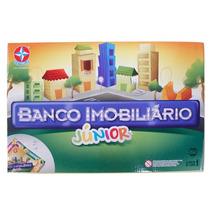 Brinquedo Novo Lacrado Banco Imobiliário Junior Da Estrela