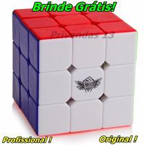 Cubo Profissional Cyclone Boys 3x3x3 + Brinde Grátis